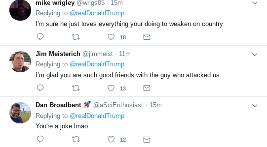 Screenshot-2019-05-04-at-10.27.26-AM Trump Kisses North Korean Ass One Day After Kim Fires Ocean Missiles Donald Trump Politics Social Media Top Stories