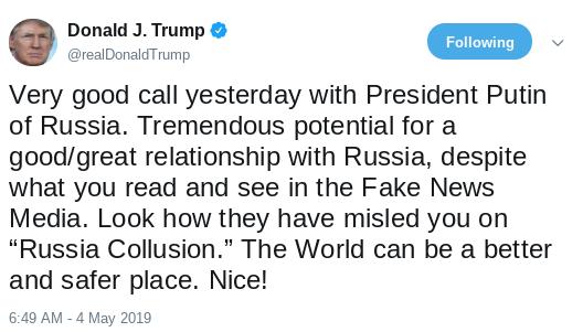 Screenshot-2019-05-04-at-10.32.36-AM Trump Kisses North Korean Ass One Day After Kim Fires Ocean Missiles Donald Trump Politics Social Media Top Stories