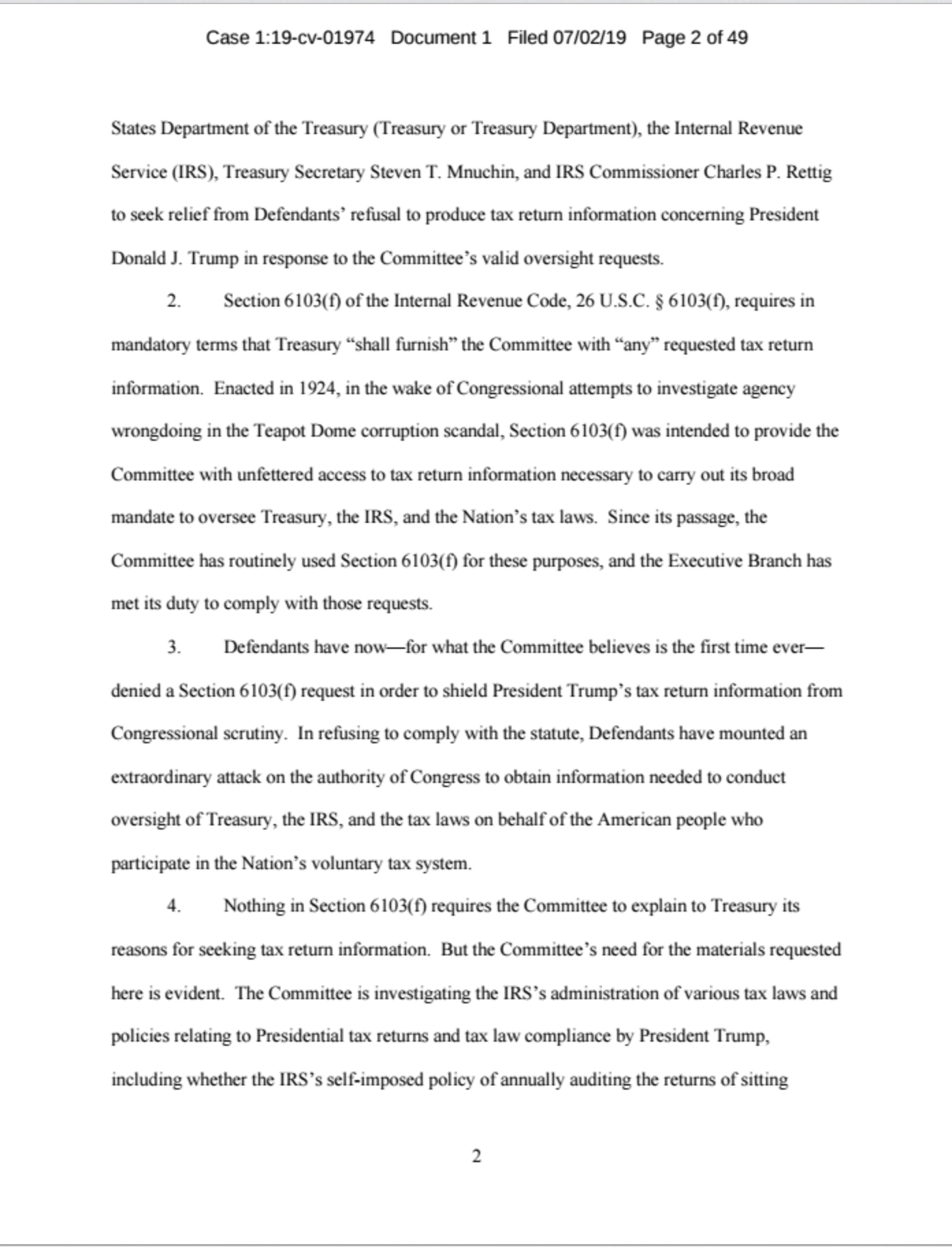 Screen-Shot-2019-07-02-at-11.29.20-AM JUST IN: House Ways And Means Committee Drops Bombshell Corruption Crime Donald Trump Politics Top Stories