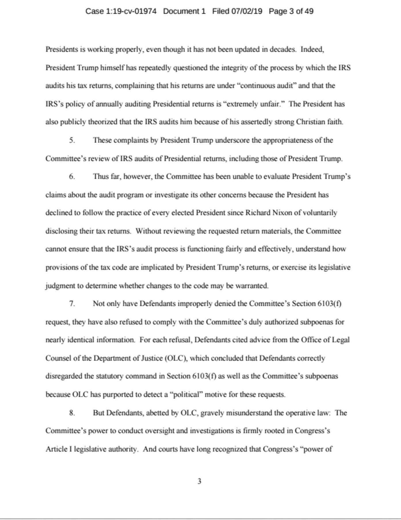 Screen-Shot-2019-07-02-at-11.29.31-AM JUST IN: House Ways And Means Committee Drops Bombshell Corruption Crime Donald Trump Politics Top Stories