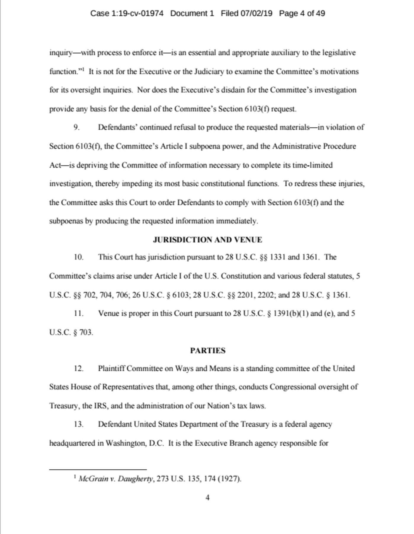 Screen-Shot-2019-07-02-at-11.29.42-AM JUST IN: House Ways And Means Committee Drops Bombshell Corruption Crime Donald Trump Politics Top Stories