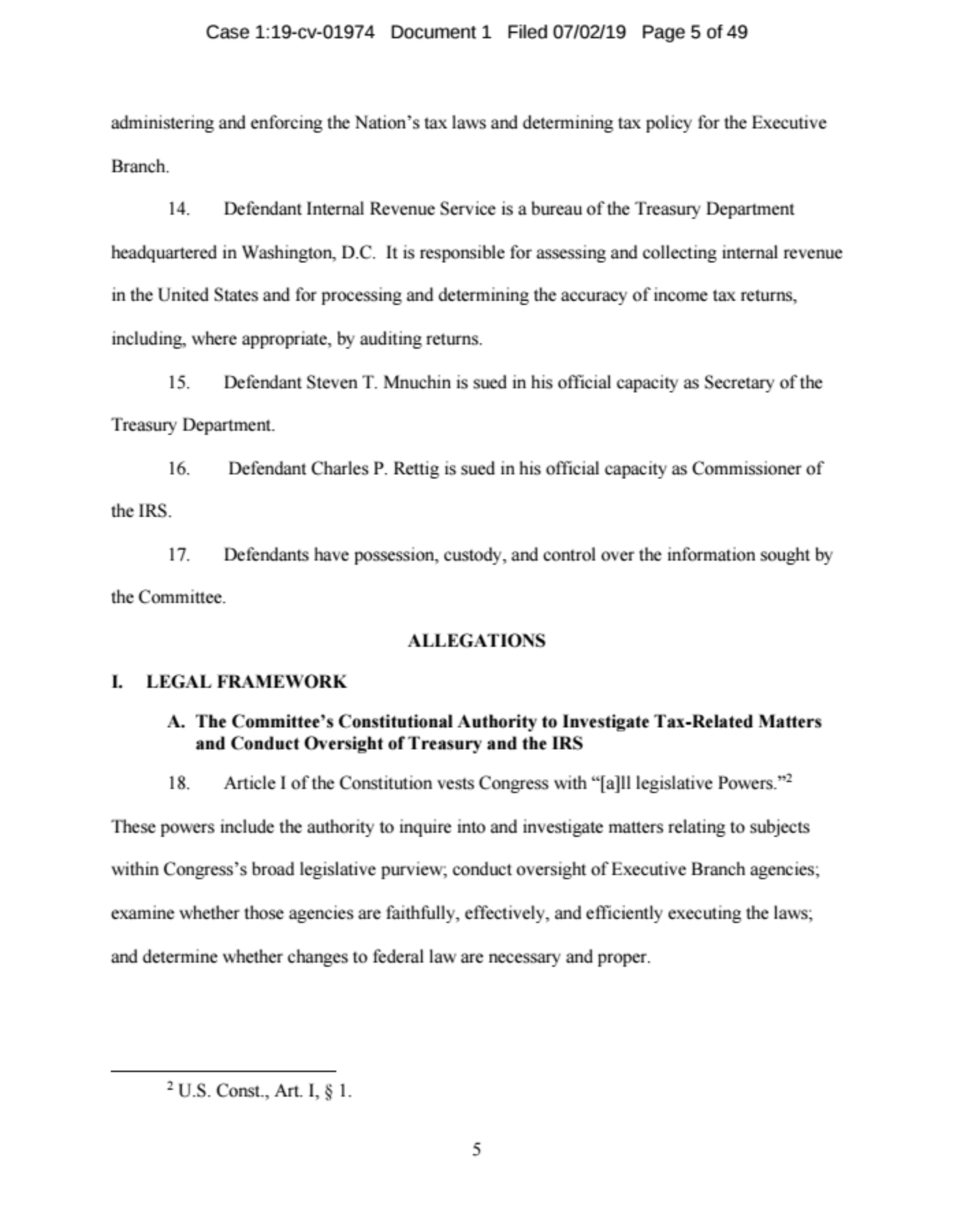 Screen-Shot-2019-07-02-at-11.29.52-AM JUST IN: House Ways And Means Committee Drops Bombshell Corruption Crime Donald Trump Politics Top Stories