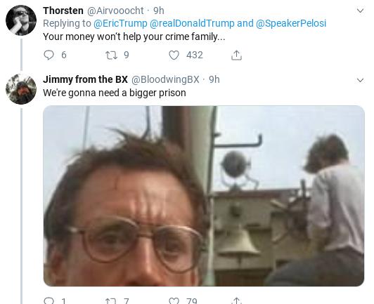 1f14def6-screenshot-2019-09-28-at-1.13.38-pm Eric Trump Suffers Weekend Embarrassment After Failed Impeachment Defense Donald Trump Impeachment Politics Social Media Top Stories