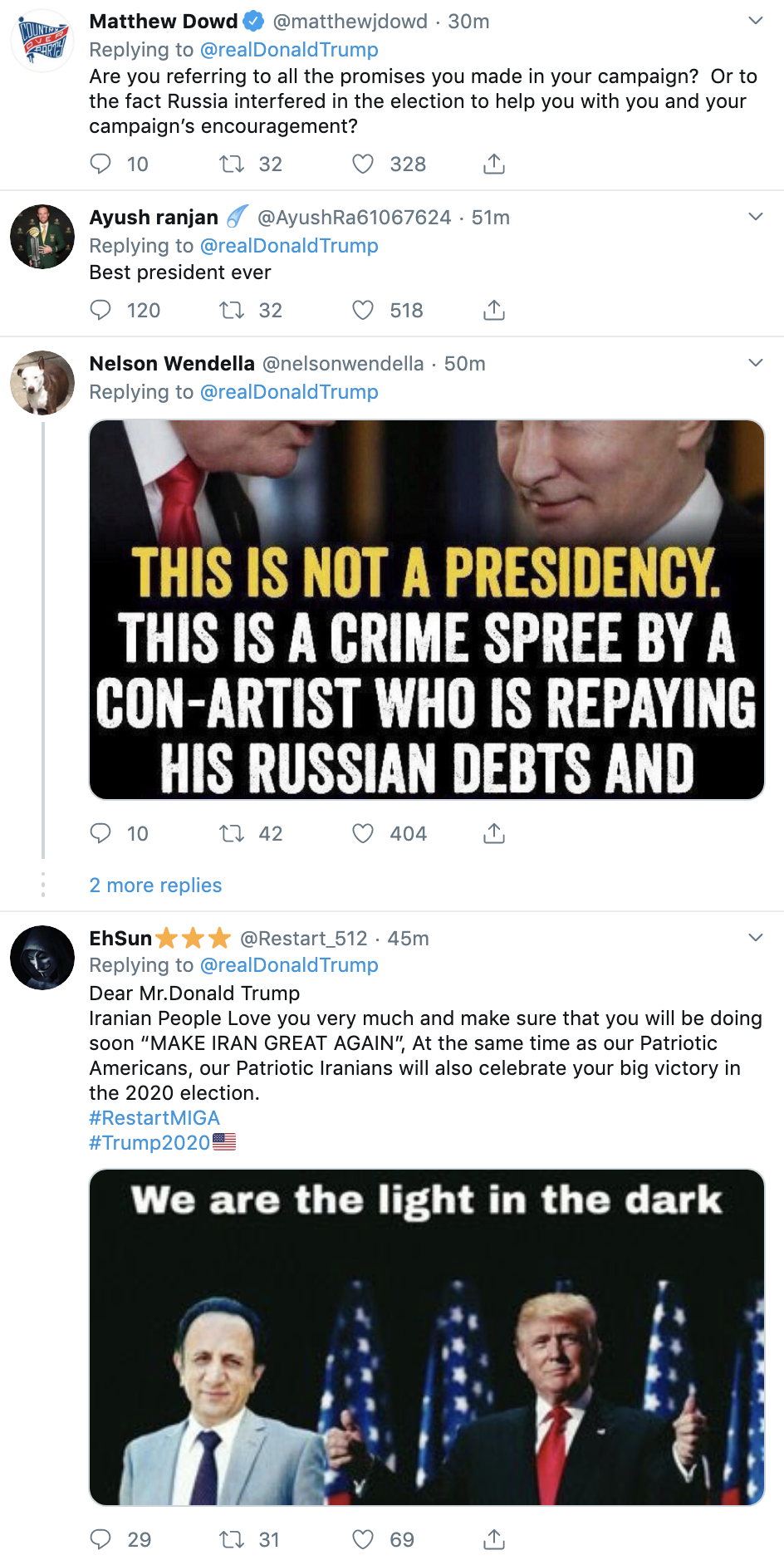 3cad8d7a-screen-shot-2019-09-26-at-7.16.23-am Trump Tweets 24x's Times As Whistleblower Complaint Hits public Corruption Crime Domestic Policy Donald Trump Election 2020 Featured Foreign Policy Impeachment Investigation Military Politics Russia Top Stories