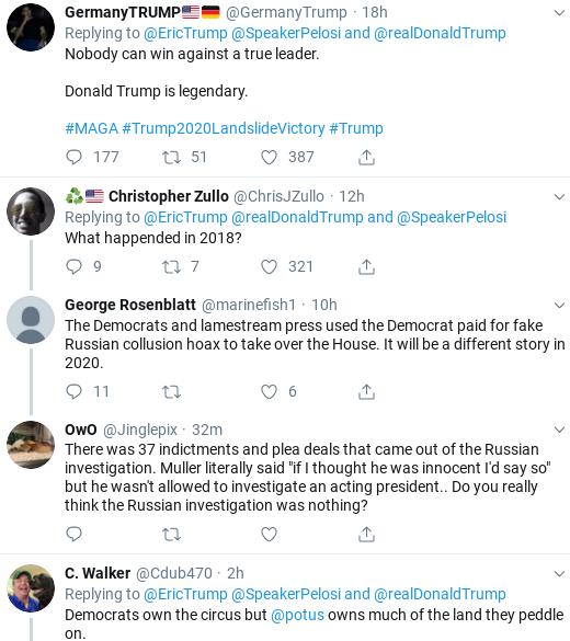 ac5270b4-screenshot-2019-09-28-at-1.14.14-pm Eric Trump Suffers Weekend Embarrassment After Failed Impeachment Defense Donald Trump Impeachment Politics Social Media Top Stories