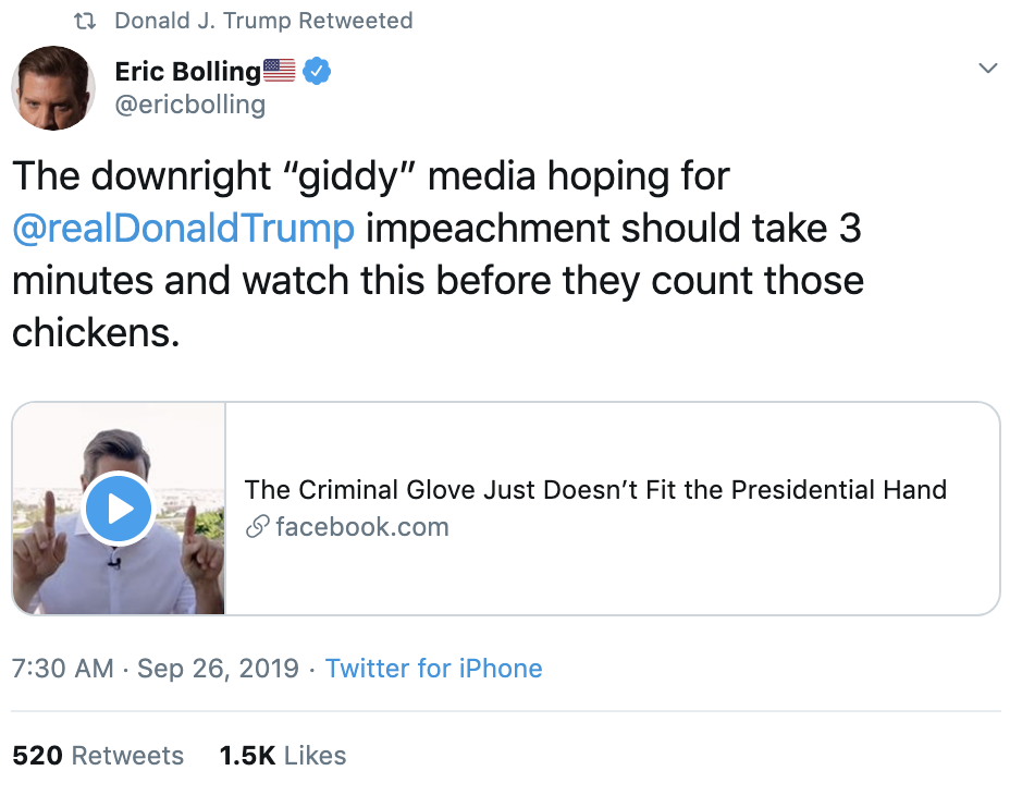 db91c2c4-screen-shot-2019-09-26-at-7.41.01-am Trump Tweets 24x's Times As Whistleblower Complaint Hits public Corruption Crime Domestic Policy Donald Trump Election 2020 Featured Foreign Policy Impeachment Investigation Military Politics Russia Top Stories