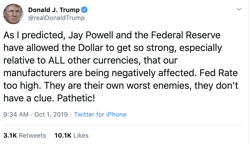 2d7eb93c-screen-shot-2019-10-01-at-9.50.03-am Trump Made Himself Look Guilty On Twitter Tuesday - Here's Why Corruption Crime Domestic Policy Donald Trump Economy Election 2020 Featured Foreign Policy Politics Top Stories