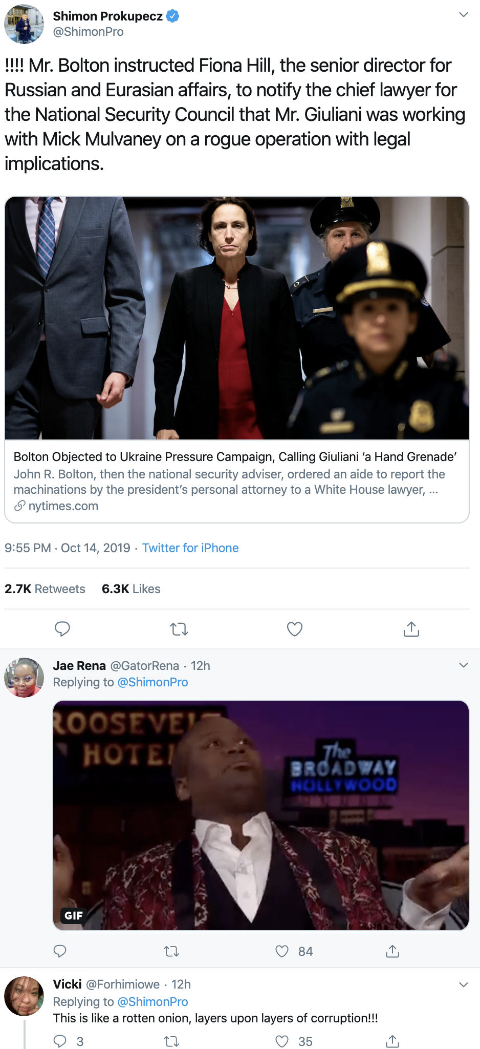 39611948-screen-shot-2019-10-15-at-10.24.34-am Trump Tries To Muzzle Top Expert's Impeachment Testimony Corruption Crime Domestic Policy Donald Trump Election 2016 Election 2020 Featured Feminism Foreign Policy Immigration Impeachment Military Mueller National Security Politics Robert Mueller Scandal Top Stories War Women's Rights