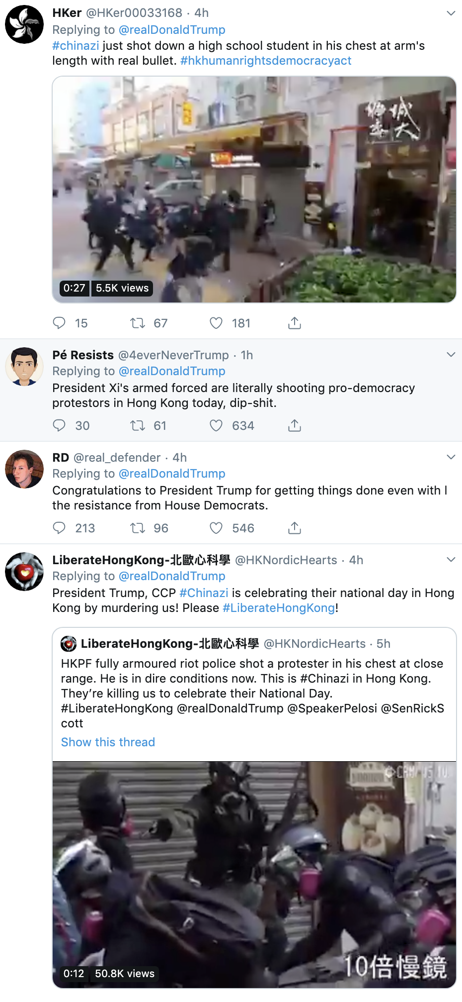 92aa24ba-screen-shot-2019-10-01-at-10.06.54-am Trump Sends Congrats To Communist, Torturing, Murderous Dictator Corruption Crime Donald Trump Economy Election 2020 Featured History Military Politics Protest Top Stories