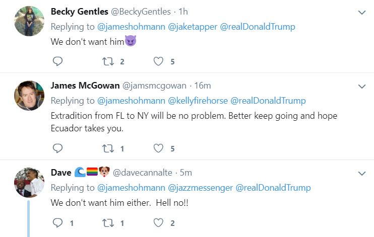 FLA4 Governor Of NY Publicly Shames Trump For Running Scared To Florida Donald Trump Featured Top Stories