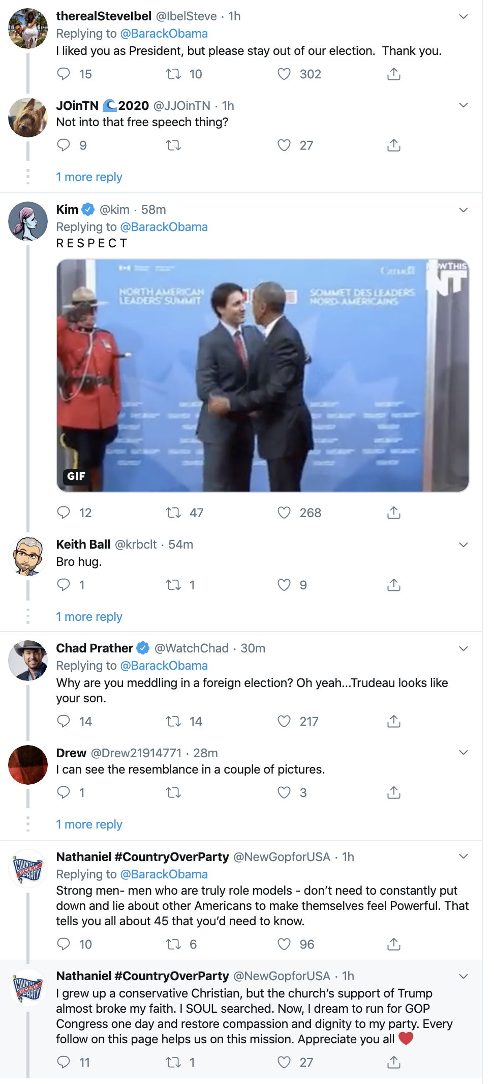 Screen-Shot-2019-10-16-at-2.38.36-PM Obama Tweets Wednesday Endorsement  That Has Conservatives Fuming Activism Black Lives Matter Civil Rights Corruption Domestic Policy Featured Foreign Policy Politics Top Stories