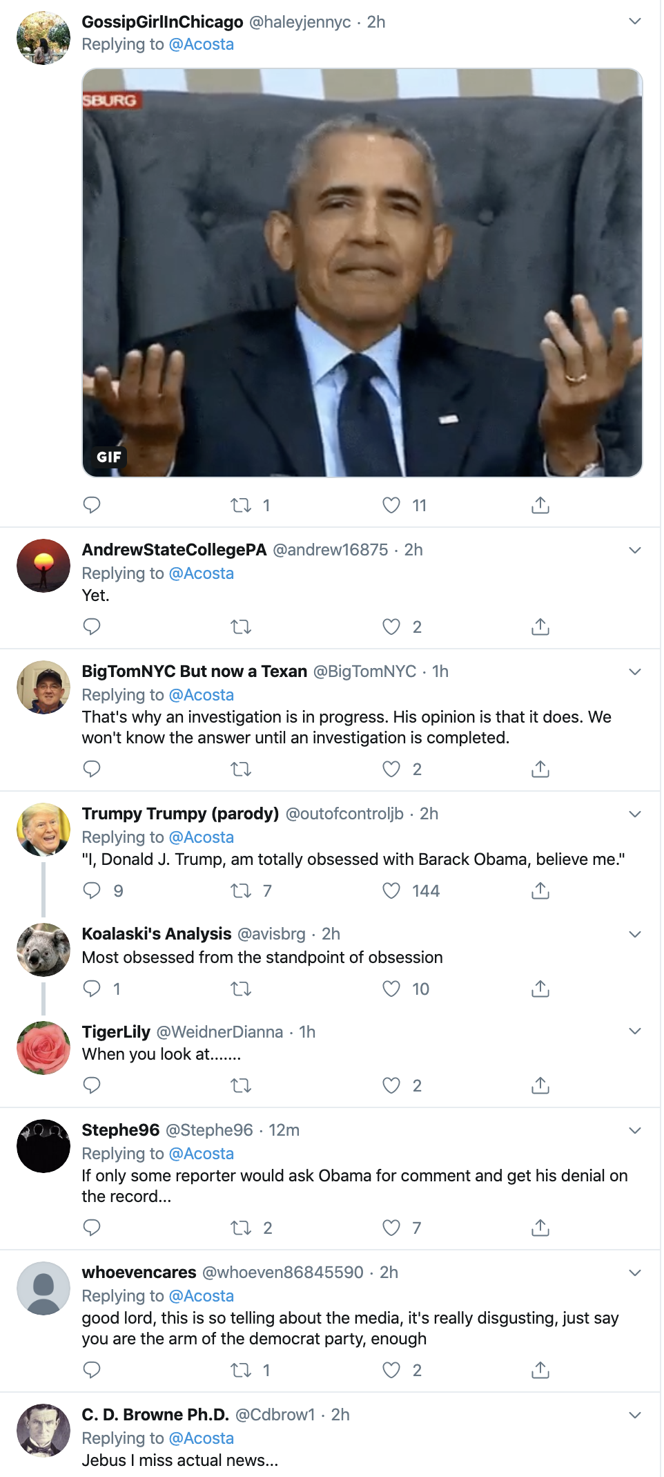 Screen-Shot-2019-10-16-at-3.10.16-PM Acosta Embarrasses Trump With Severe Wednesday Fact-Check Conspiracy Theory Corruption Crime Domestic Policy Donald Trump Election 2020 Featured Hate Speech Impeachment Investigation Mental Illness Politics Racism Top Stories White Supremacy
