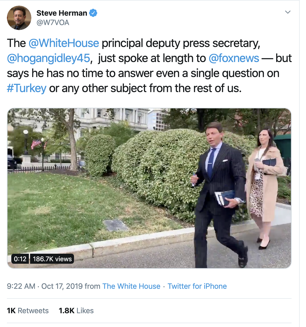 Screen-Shot-2019-10-17-at-1.20.19-PM Acosta Trolls Mulvaney With Thursday Tweet Shaming Corruption Crime Donald Trump Featured Media Politics Television Top Stories