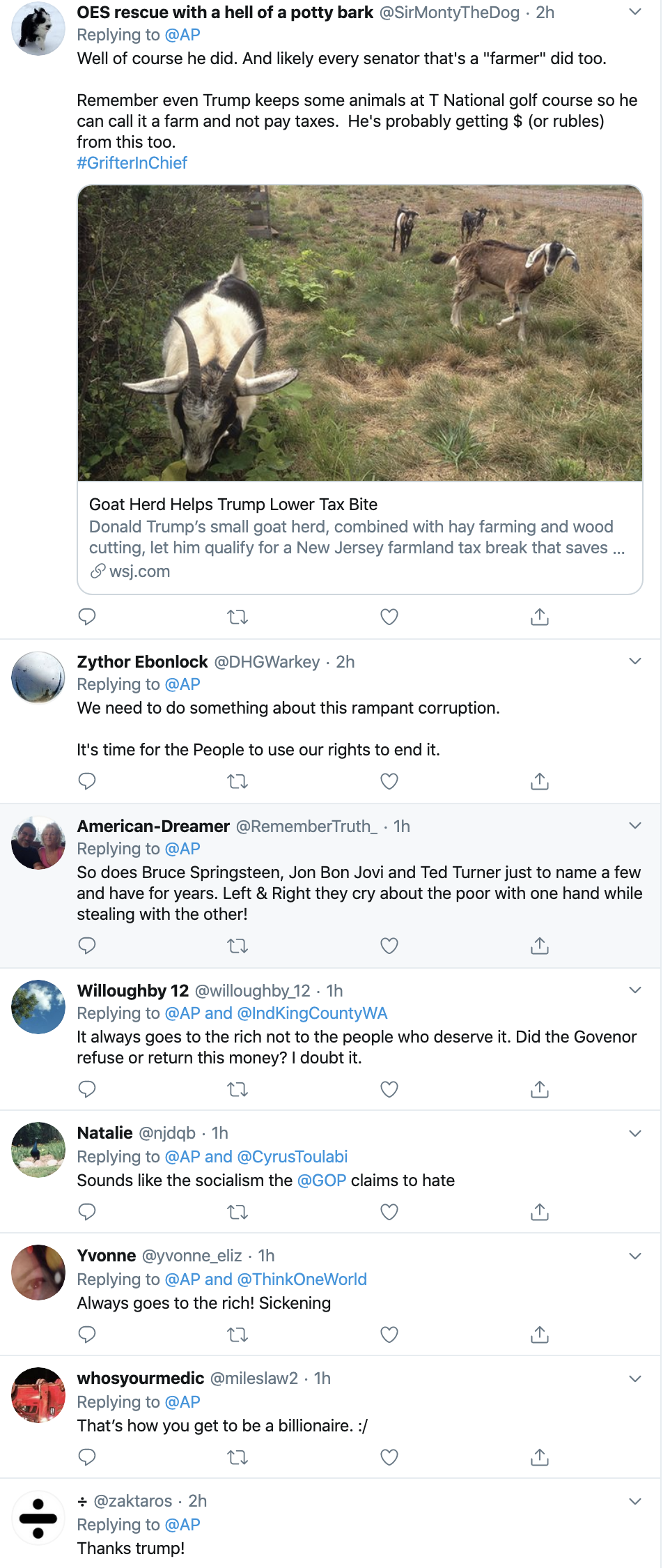 Screen-Shot-2019-10-17-at-11.54.43-AM GOP Governor Caught Funneling $125,000 Via Farmer Bail Out Fund Animal Rights Corruption Crime Domestic Policy Donald Trump Election 2016 Election 2020 Environment Featured Politics Top Stories