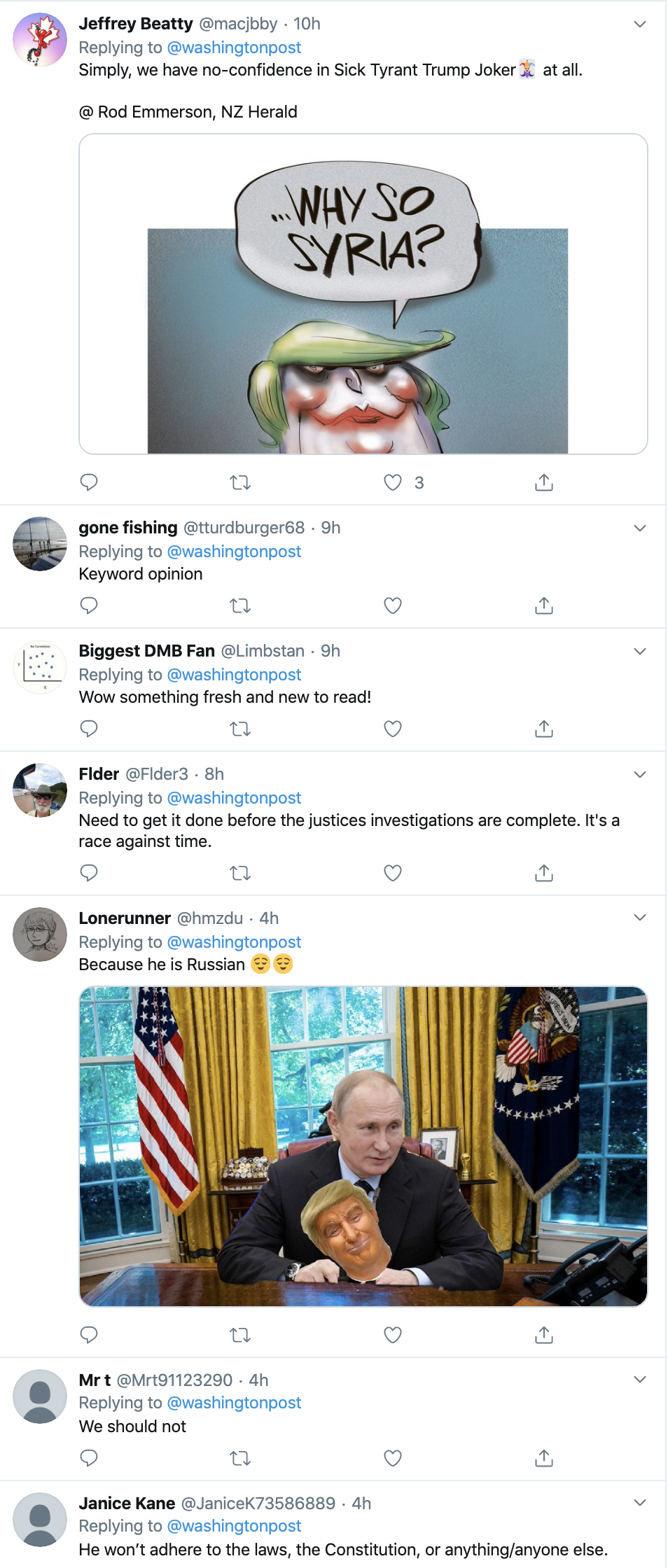 Screen-Shot-2019-10-21-at-4.11.48-PM Trump Just Compared Himself To George Washington & It Didn't Fly Corruption Crime Domestic Policy Donald Trump Election 2016 Election 2020 Featured History Impeachment Investigation National Security Politics Top Stories