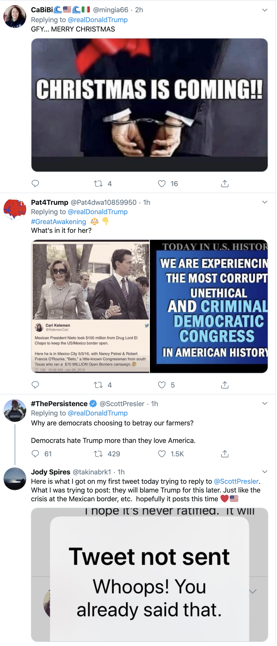 Screen-Shot-2019-10-22-at-10.37.50-AM Trump Fires Off Erratic Weaponized Twitter Bombs Tuesday Corruption Crime Domestic Policy Donald Trump Economy Election 2016 Election 2020 Featured Foreign Policy Hillary Clinton Impeachment Investigation Media Military National Security Politics Racism Russia Social Media Top Stories