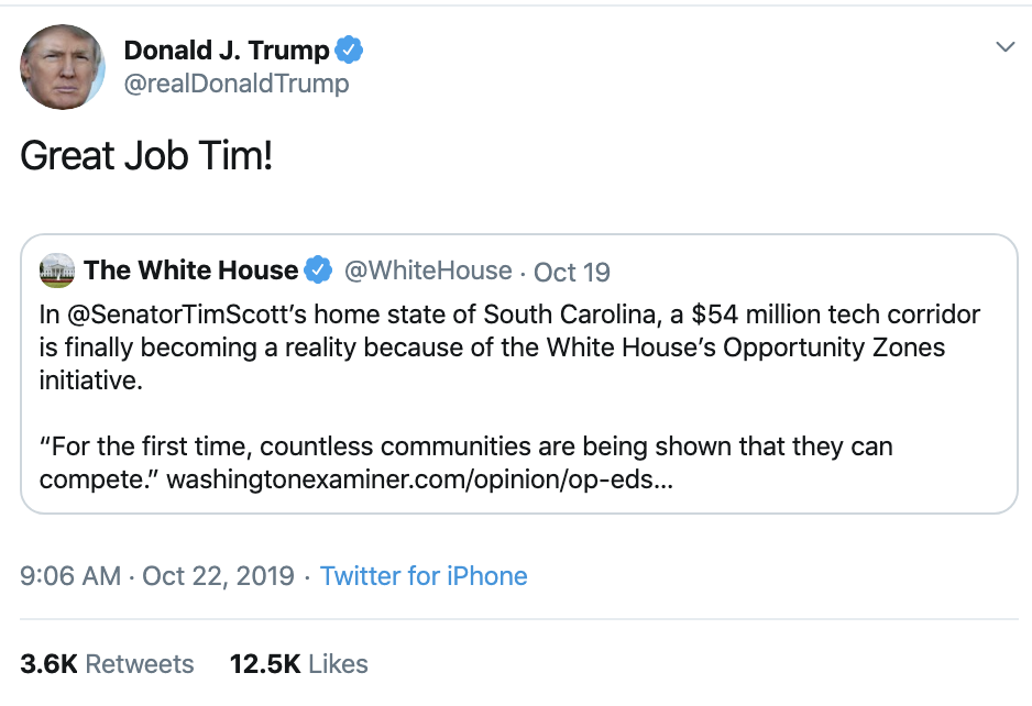 Screen-Shot-2019-10-22-at-10.45.43-AM Trump Fires Off Erratic Weaponized Twitter Bombs Tuesday Corruption Crime Domestic Policy Donald Trump Economy Election 2016 Election 2020 Featured Foreign Policy Hillary Clinton Impeachment Investigation Media Military National Security Politics Racism Russia Social Media Top Stories