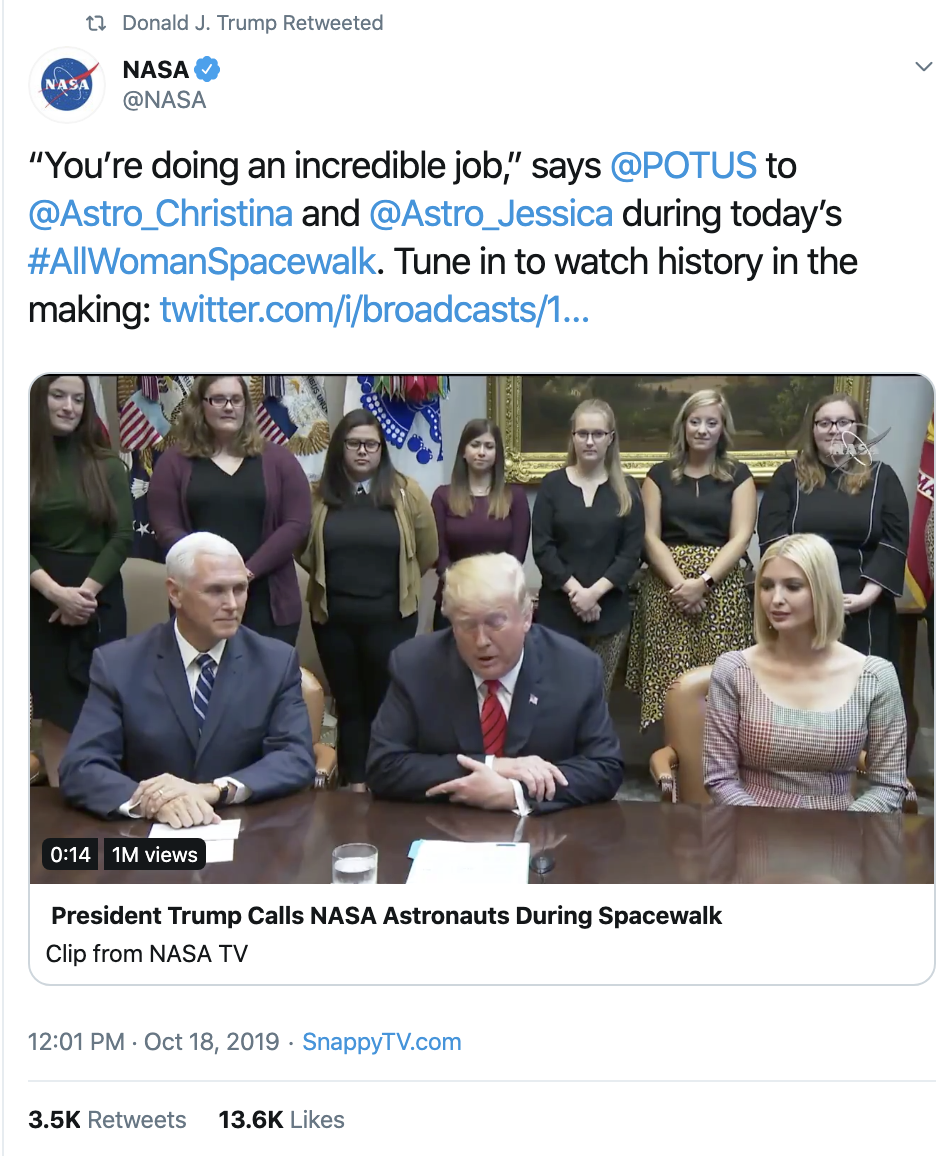 Screen-Shot-2019-10-22-at-10.47.12-AM Trump Fires Off Erratic Weaponized Twitter Bombs Tuesday Corruption Crime Domestic Policy Donald Trump Economy Election 2016 Election 2020 Featured Foreign Policy Hillary Clinton Impeachment Investigation Media Military National Security Politics Racism Russia Social Media Top Stories