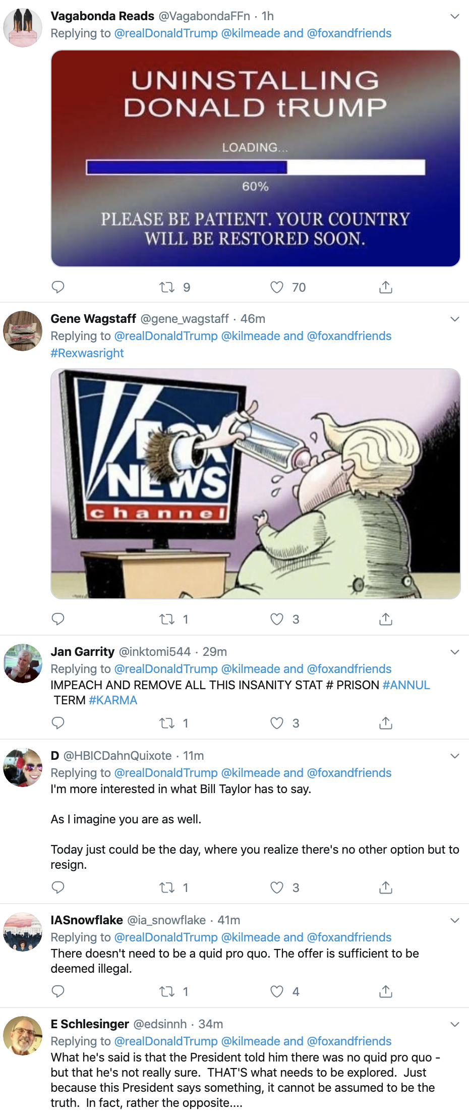 Screen-Shot-2019-10-22-at-7.24.30-AM Trump Calls Impeachment 'A Lynching' In Tuesday AM Outburst Corruption Crime Domestic Policy Donald Trump Election 2016 Election 2020 Featured Hillary Clinton Investigation Islamaphobia Politics Top Stories