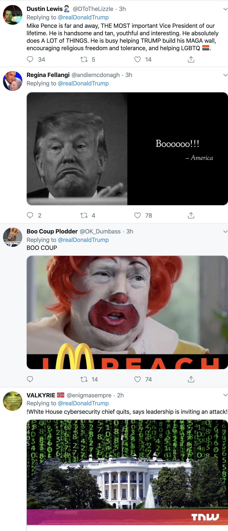 Screen-Shot-2019-10-28-at-3.30.52-PM Trump Goes On Monday Twitter-Spree That Has People Wondering Animal Rights Corruption Crime Domestic Policy Donald Trump Election 2016 Election 2020 Featured Foreign Policy Impeachment Investigation Military Politics Terrorism Top Stories War