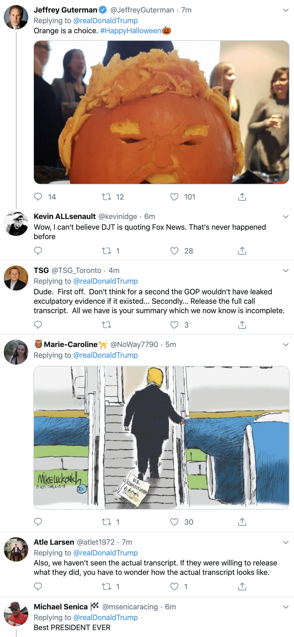 Screen-Shot-2019-10-31-at-7.28.52-AM Trump Has Impeachment Fear Induced 5-Tweet Thursday Meltdown Corruption Crime Domestic Policy Donald Trump Economy Election 2016 Election 2020 Featured Foreign Policy History Impeachment Investigation Media Military National Security Politics Russia Terrorism Top Stories War