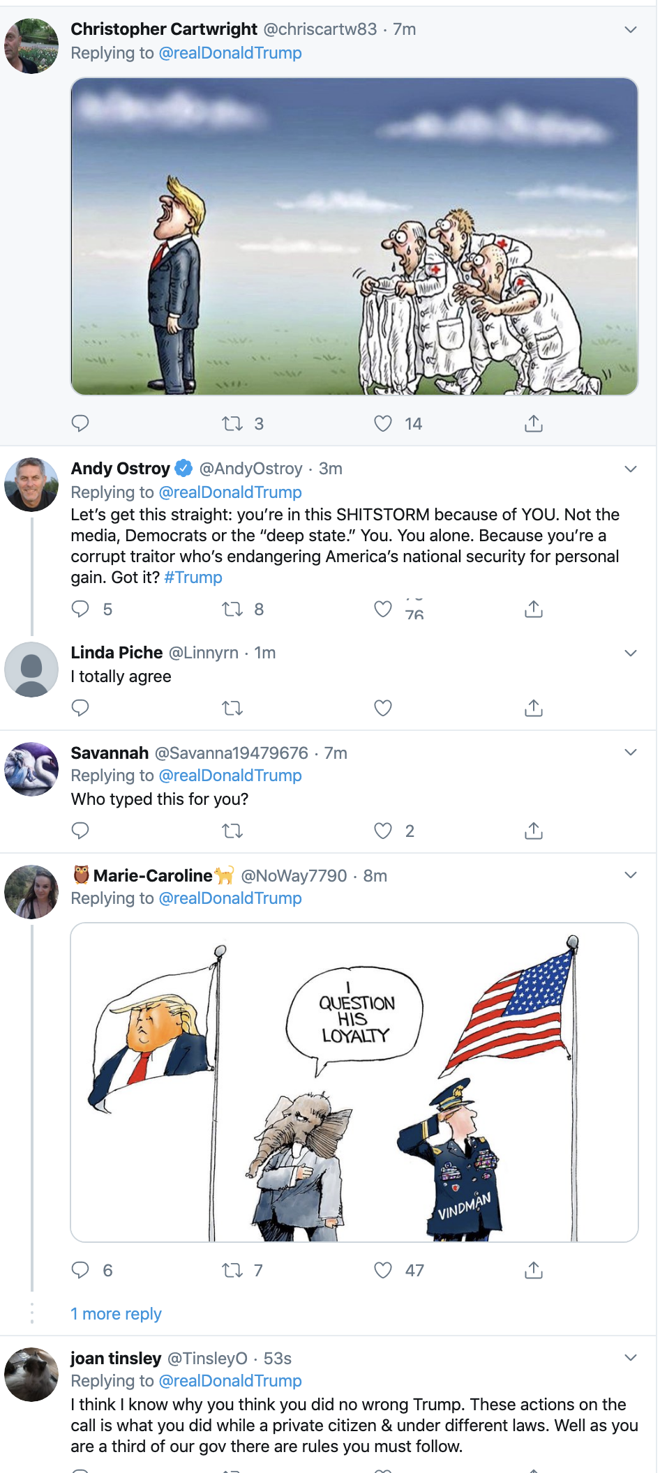 Screen-Shot-2019-10-31-at-7.29.25-AM Trump Has Impeachment Fear Induced 5-Tweet Thursday Meltdown Corruption Crime Domestic Policy Donald Trump Economy Election 2016 Election 2020 Featured Foreign Policy History Impeachment Investigation Media Military National Security Politics Russia Terrorism Top Stories War