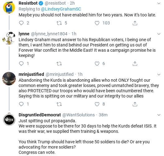 Screenshot-2019-10-16-at-2.23.31-PM Lindsay Graham Has 5-Tweet Anti-Trump Wednesday Meltdown Donald Trump Military National Security Politics Social Media Top Stories