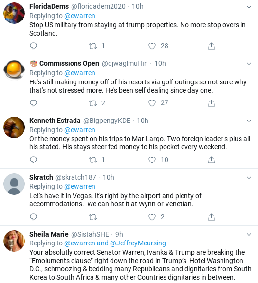 Screenshot-2019-10-20-at-10.12.50-AM 2020 Dems Slam Trump Over G7 Hosting Debacle Corruption Donald Trump Politics Social Media Top Stories
