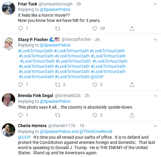 Screenshot-2019-10-28-at-12.03.47-PM Pelosi Slams Cowardly Republican Senators In Monday Takedown Donald Trump Politics Social Media Top Stories