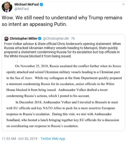 Screenshot-2019-10-30-at-3.53.29-PM Impeachment Witness Reveals Secret Trump Campaign For Putin Donald Trump Politics Top Stories