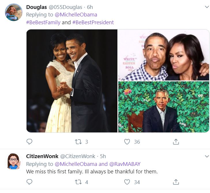Obama7 Michelle Obama Upstages Melania With Thanksgiving Message To America Donald Trump Featured Impeachment Michelle Obama Top Stories