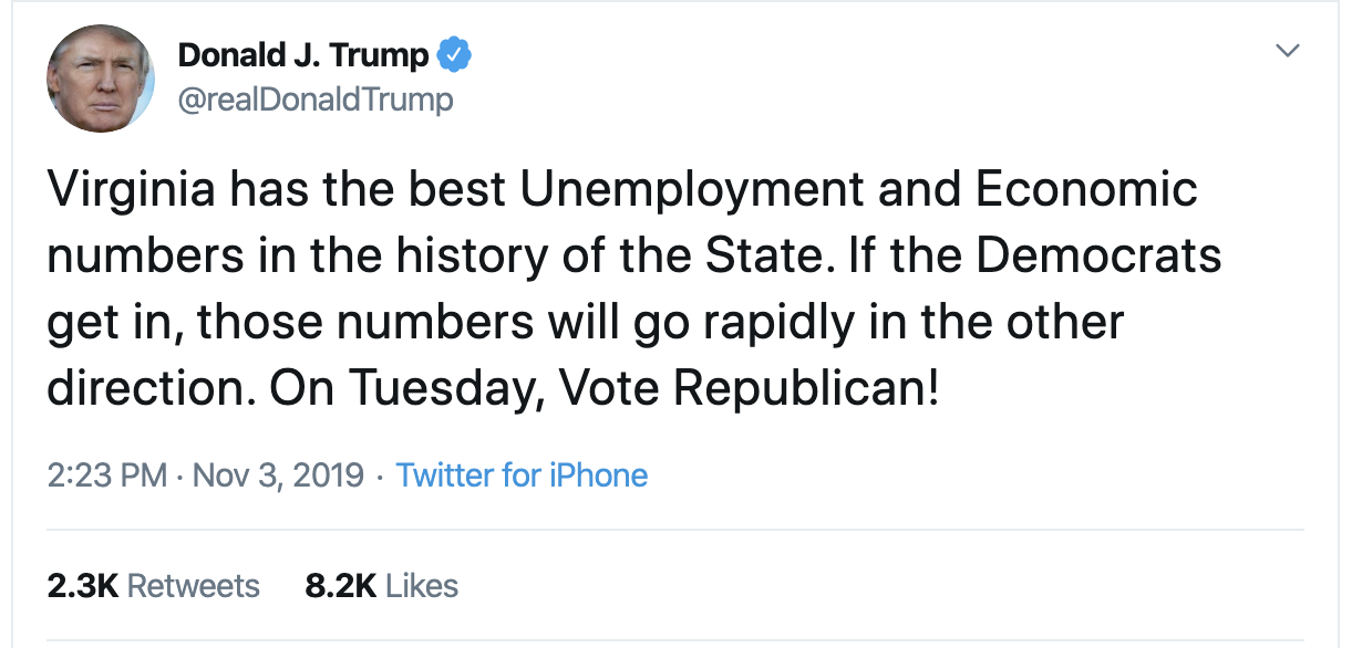 Screen-Shot-2019-11-03-at-2.37.21-PM Trump Announces Wild Conspiracy During Sunday Afternoon Meltdown Uncategorized