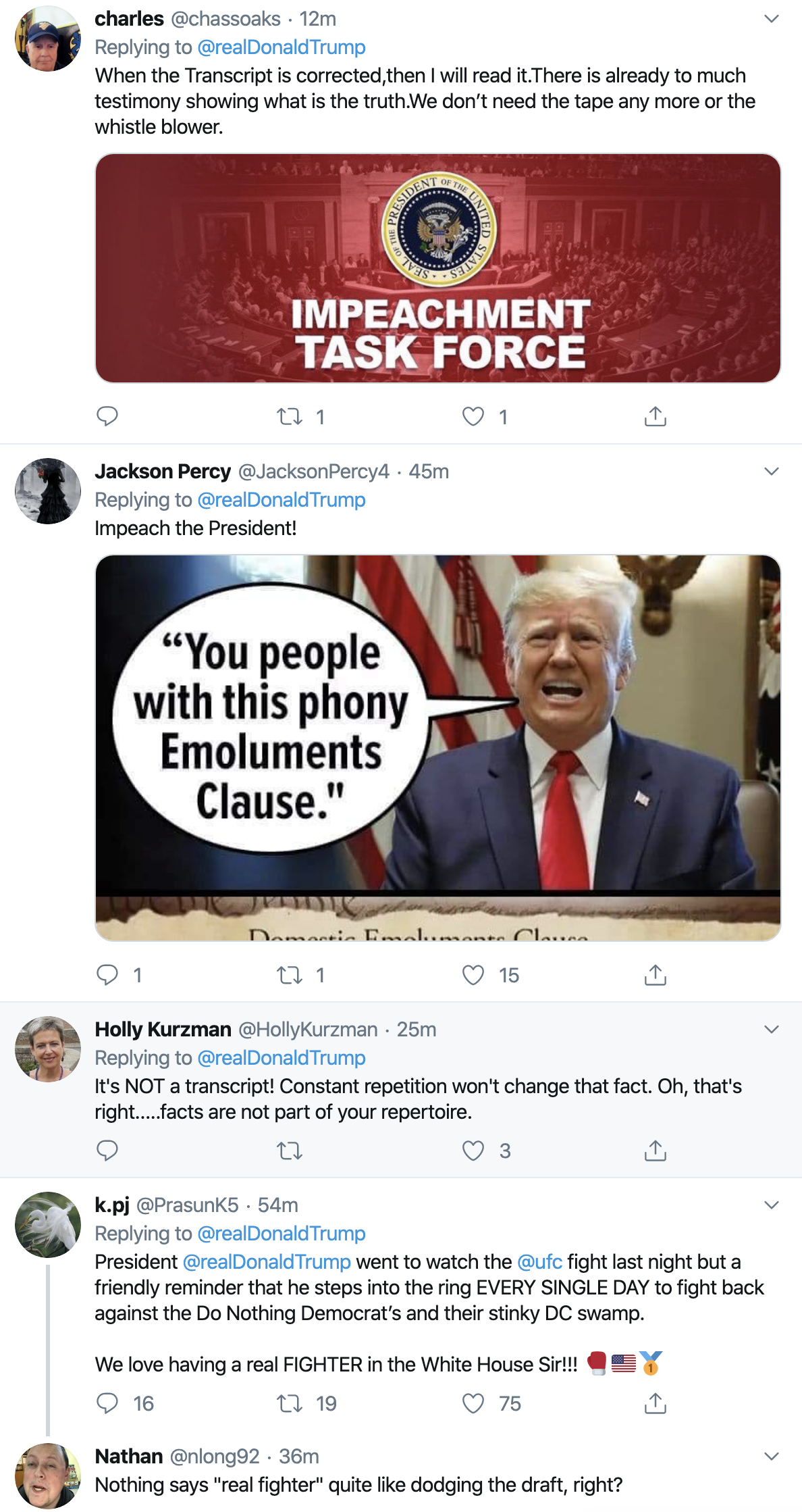 Screen-Shot-2019-11-04-at-9.46.56-AM Trump Continues Monday Morning Mental Breakdown On Twitter Corruption Crime Domestic Policy Donald Trump Economy Election 2016 Election 2020 Featured Foreign Policy Impeachment Investigation National Security Politics Russia Social Media Television Top Stories War White Privilege White Supremacy