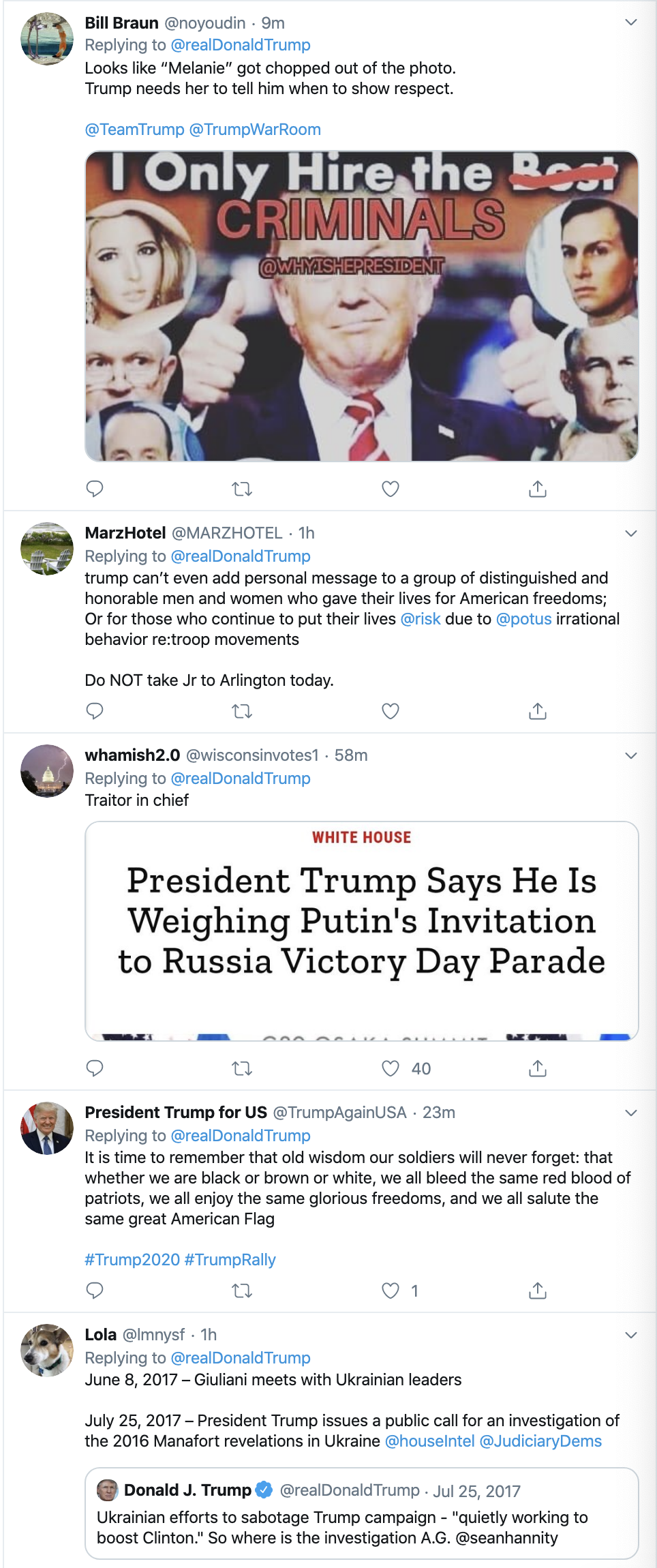 Screen-Shot-2019-11-11-at-7.18.49-AM Trump Tweets 3-Words For Veterans Day - Patriots Get Fed Up Corruption Crime Domestic Policy Donald Trump Election 2020 Featured Foreign Policy Impeachment Investigation Military National Security Politics Top Stories Veterans War
