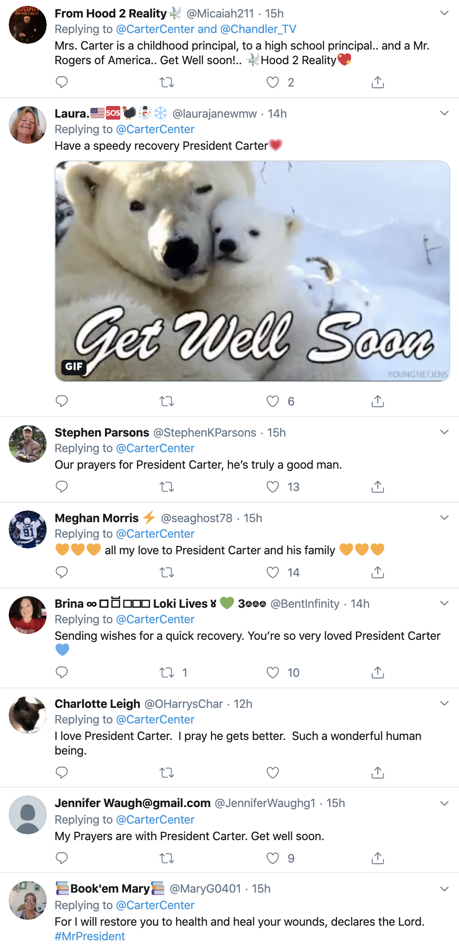 Screen-Shot-2019-11-12-at-12.21.18-PM President Jimmy Carter Hospitalized For Brain Surgery Civil Rights Corruption Crime Domestic Policy Donald Trump Election 2016 Foreign Policy History Human Rights National Security Politics Poverty Religion Top Stories
