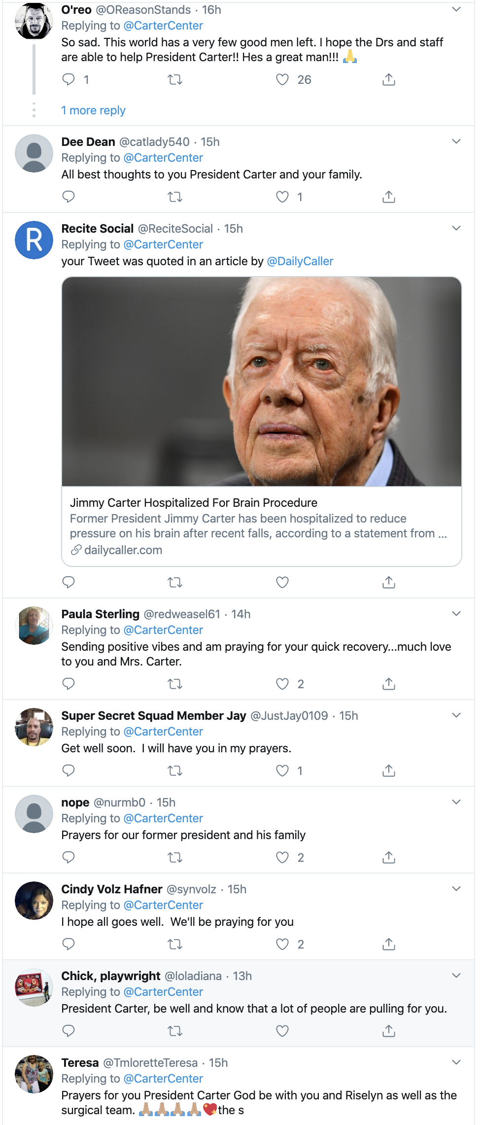 Screen-Shot-2019-11-12-at-12.21.53-PM President Jimmy Carter Hospitalized For Brain Surgery Civil Rights Corruption Crime Domestic Policy Donald Trump Election 2016 Foreign Policy History Human Rights National Security Politics Poverty Religion Top Stories