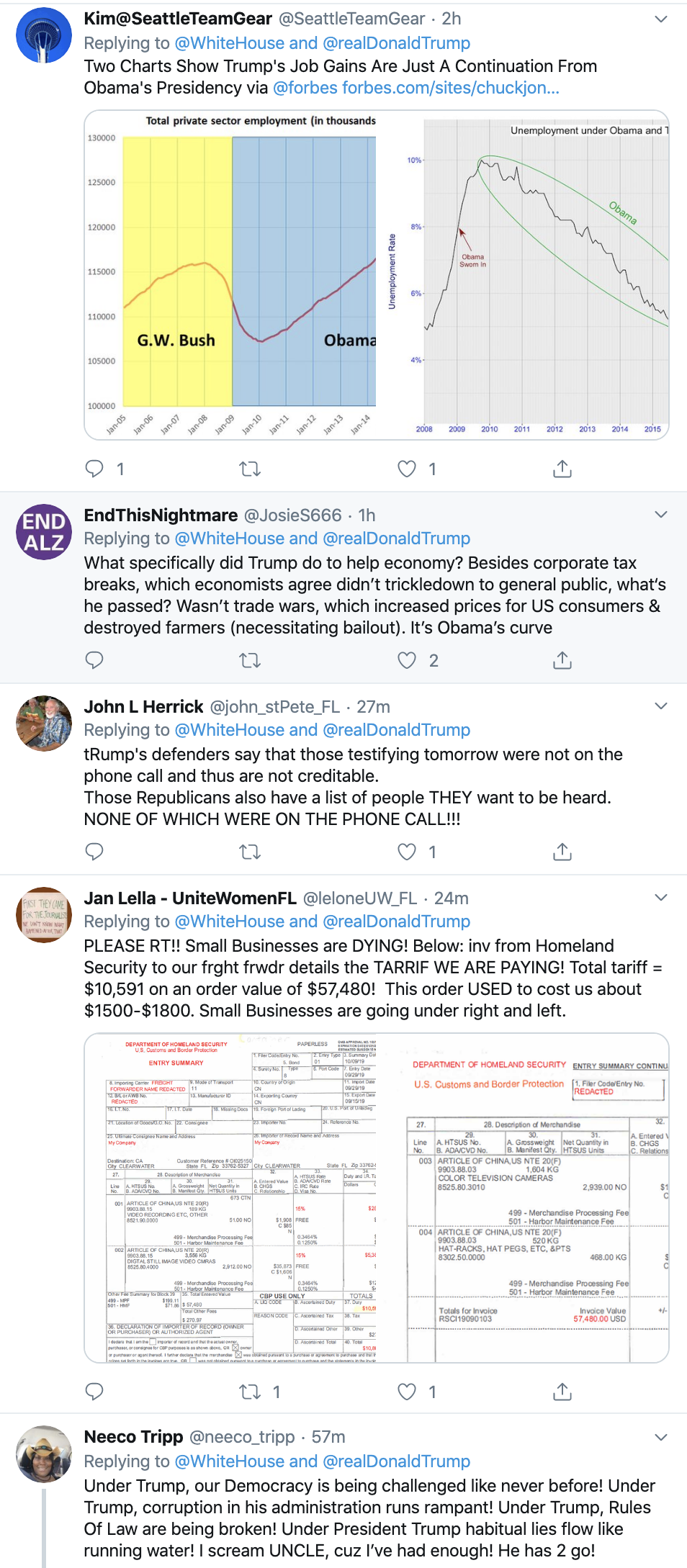 Screen-Shot-2019-11-12-at-4.28.17-PM Trump Gives Ivanka Undeserved Credit - Gets Busted On Twitter Corruption Crime Domestic Policy Donald Trump Economy Election 2020 Featured History Labor National Security Politics Poverty Racism Top Stories