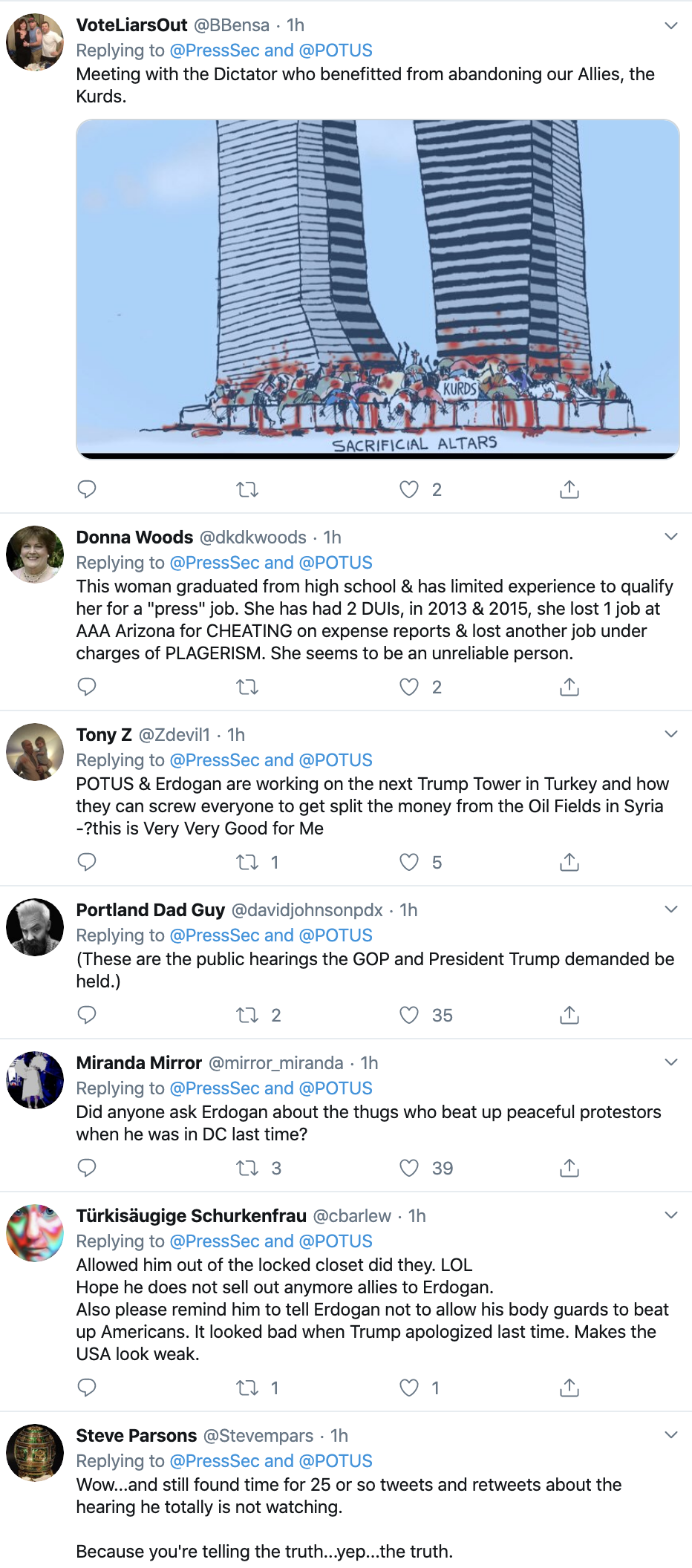 Screen-Shot-2019-11-13-at-3.24.17-PM Trump Flips Out During WH Meeting With Turkish Leader Corruption Crime Donald Trump Election 2020 Featured Foreign Policy Impeachment Investigation Military Politics Russia Terrorism Top Stories Videos War