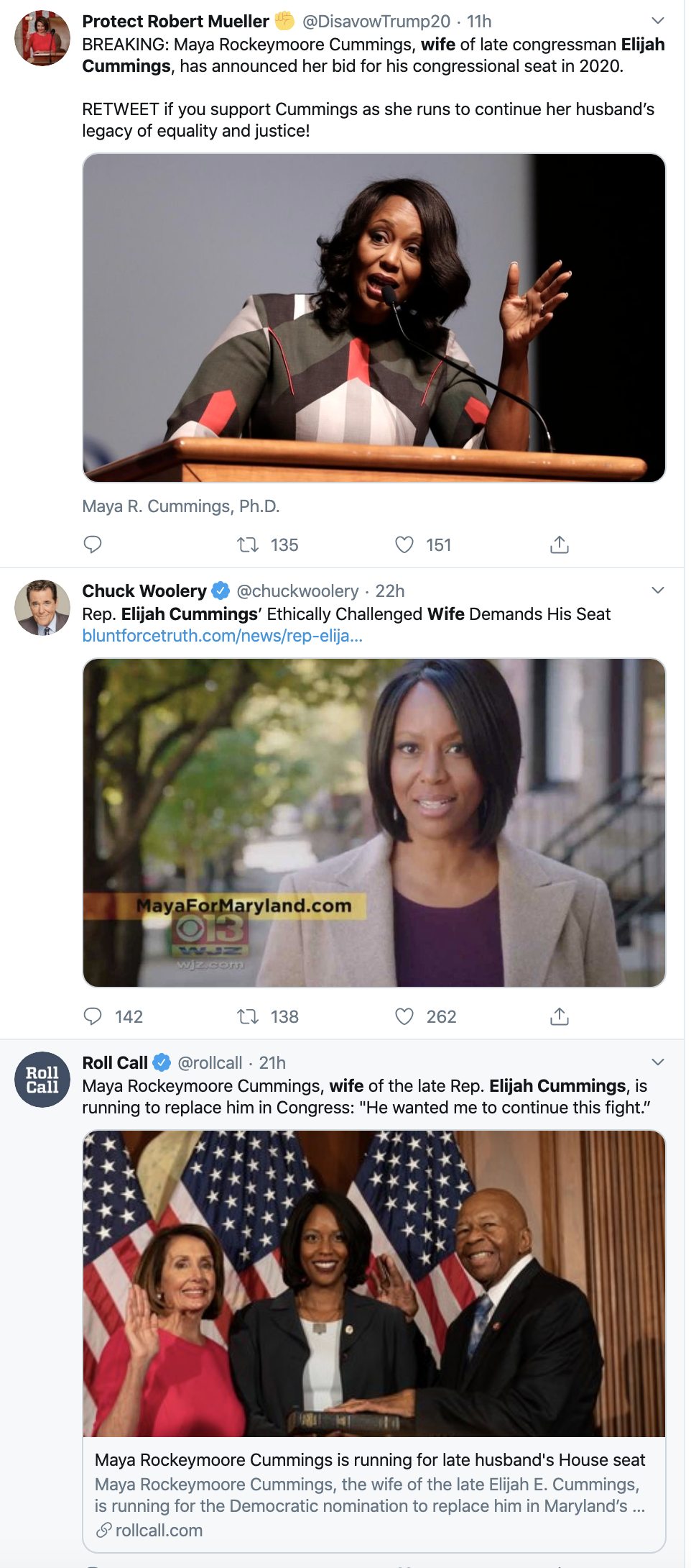 Screen-Shot-2019-11-13-at-8.57.39-AM Elijah Cummings' Widow Makes Brave Political Announcement Black Lives Matter Civil Rights Domestic Policy Election 2016 Election 2020 Featured Feminism Foreign Policy Humanitarian National Security Politics Poverty Religion Top Stories Women's Rights