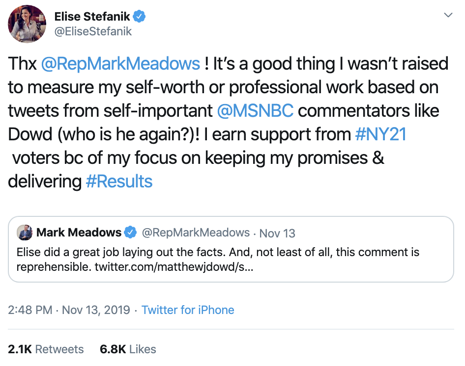 Screen-Shot-2019-11-14-at-3.47.26-PM Don Jr. Is Going Thursday-Crazy On Twitter Over Impeachment Corruption Crime Domestic Policy Donald Trump Election 2016 Election 2020 Featured Feminism Foreign Policy Impeachment Investigation Me Too Media Politics Social Media Television Top Stories Women's Rights