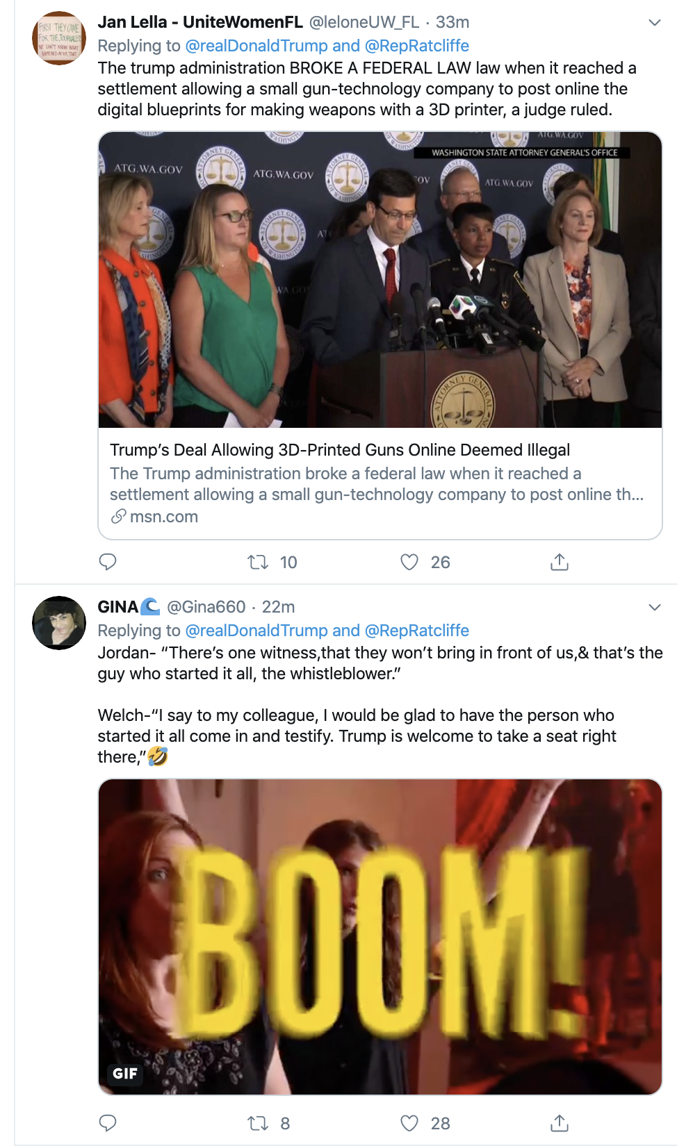 Screen-Shot-2019-11-14-at-7.18.53-AM Trump Goes On Pre-Dawn Conspiracy-Laden Twitter Spree Conspiracy Theory Corruption Crime Domestic Policy Donald Trump Election 2016 Election 2020 Featured Foreign Policy History Impeachment Investigation Military National Security Politics Russia Television Top Stories War