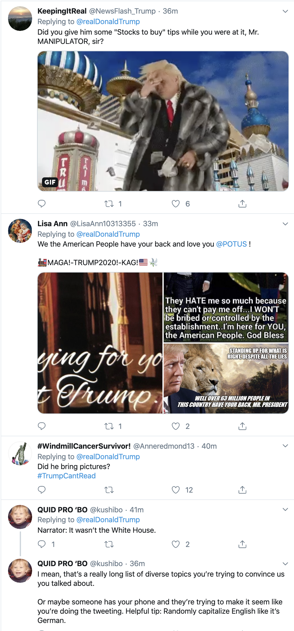 Screen-Shot-2019-11-18-at-10.44.13-AM Trump Delivers More Monday AM Distractions On Twitter Conspiracy Theory Corruption Crime Donald Trump Economy Election 2016 Election 2020 Featured Foreign Policy History Impeachment Investigation Military National Security Politics Terrorism Top Stories War