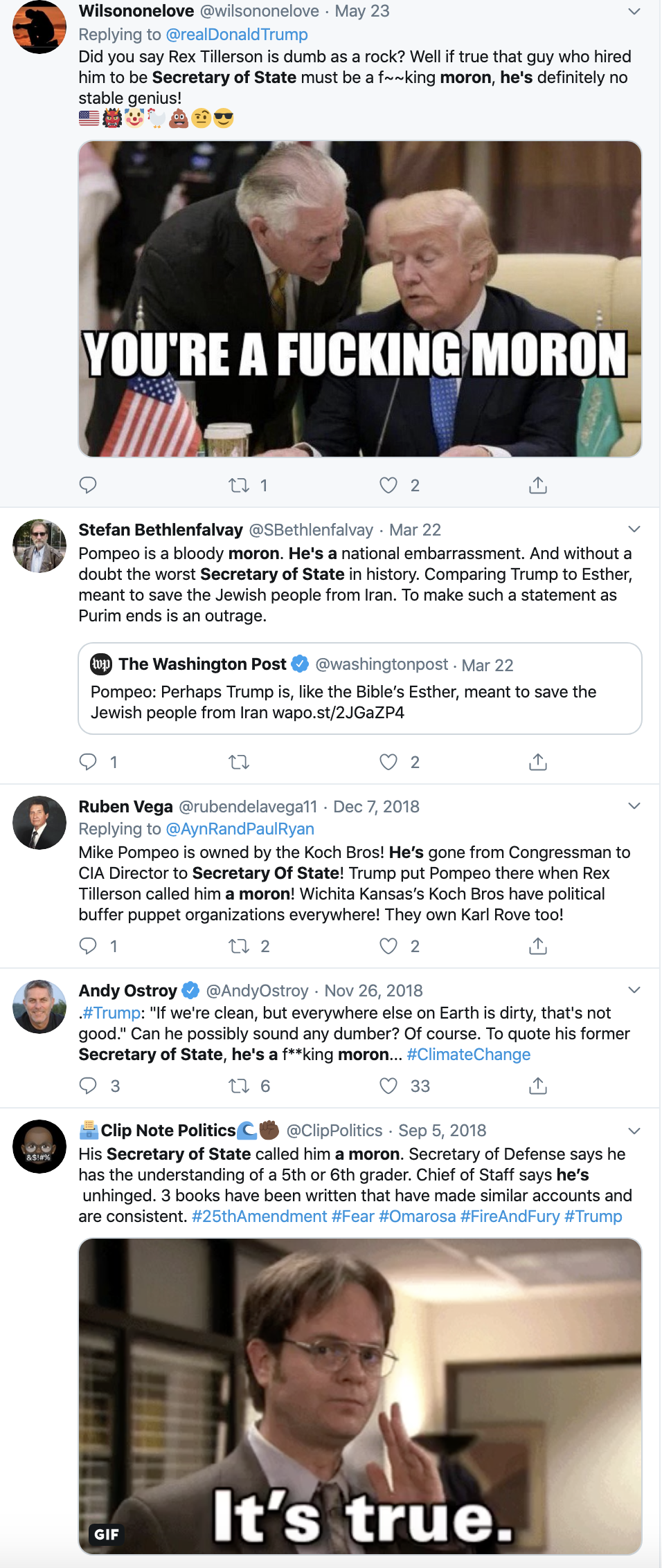 Screen-Shot-2019-11-18-at-4.42.33-PM Top State Dept. Official Resigns After Caught Lying On Resume Corruption Crime Domestic Policy Donald Trump Featured Foreign Policy Investigation National Security Politics Top Stories