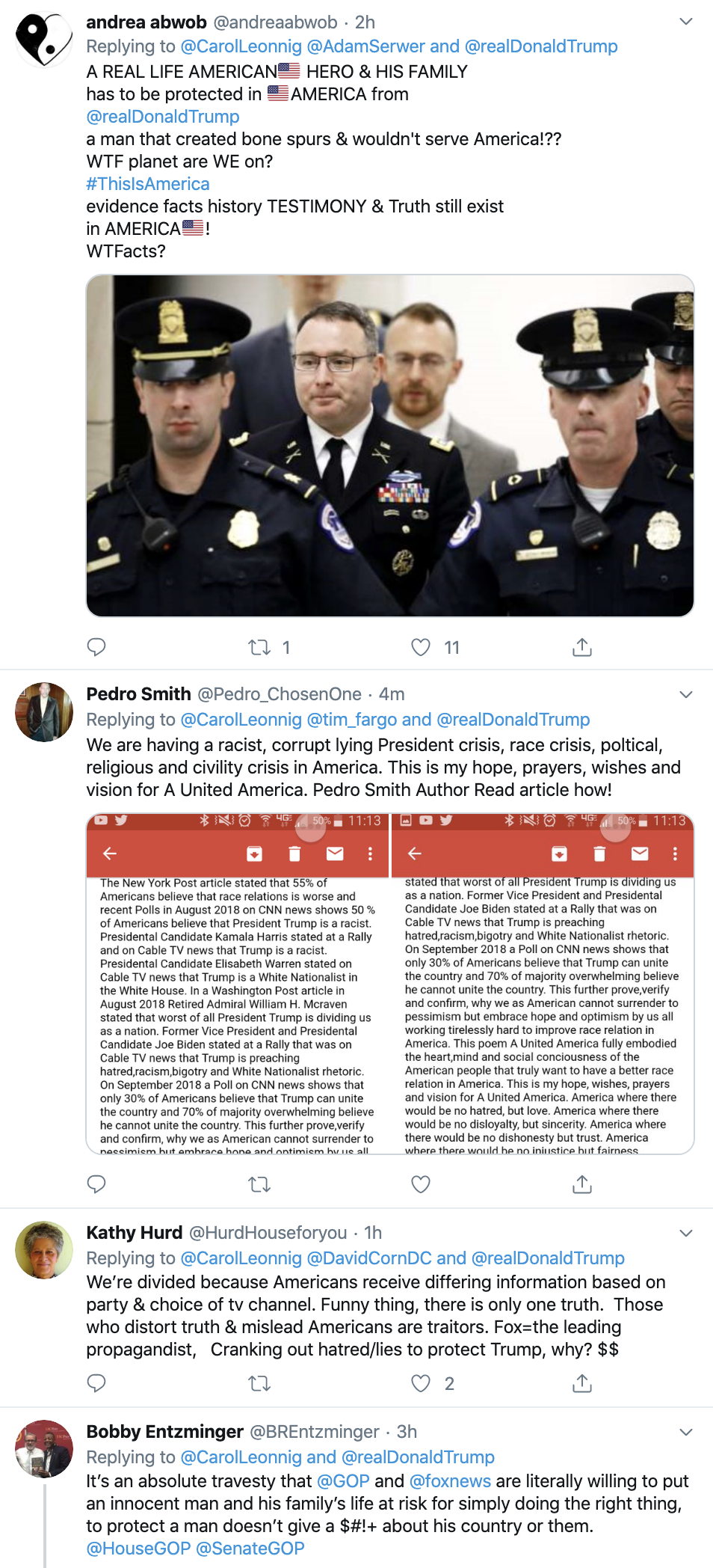Screen-Shot-2019-11-19-at-11.28.20-AM U.S. Army Makes Vindman/Imminent Threat Announcement Corruption Crime Impeachment Top Stories Violence