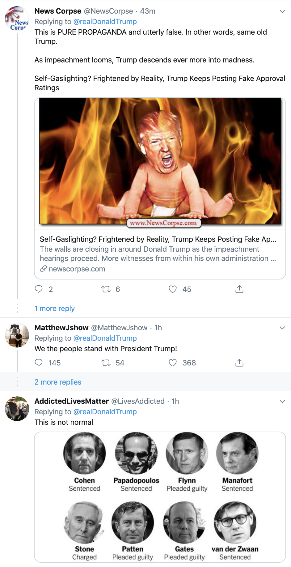 Screen-Shot-2019-11-19-at-11.57.45-AM Trump Tweets Ominous Video During Impeachment Proceedings Corruption Impeachment Investigation Politics Top Stories