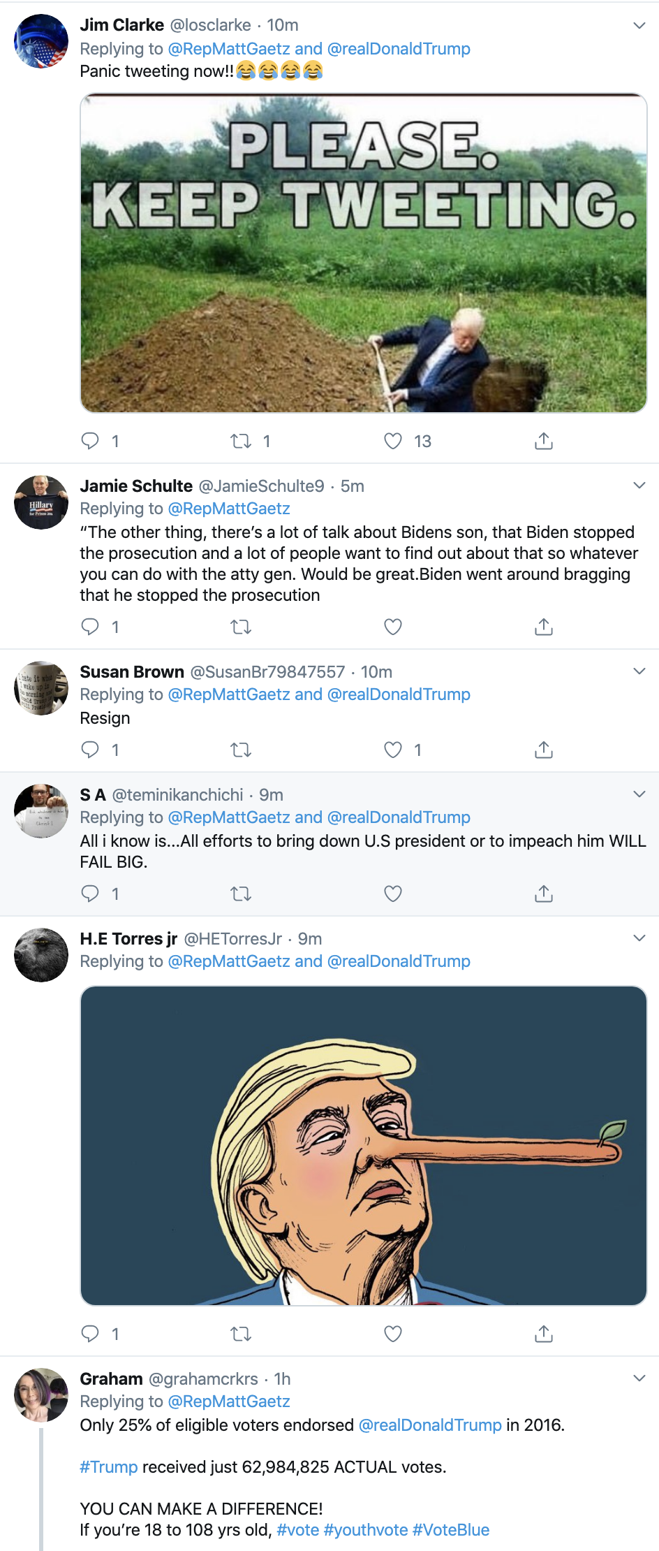 Screen-Shot-2019-11-20-at-1.37.33-PM Trump Snaps & Tweets 7 Times During Sondland Testimony Corruption Donald Trump Featured Impeachment Top Stories