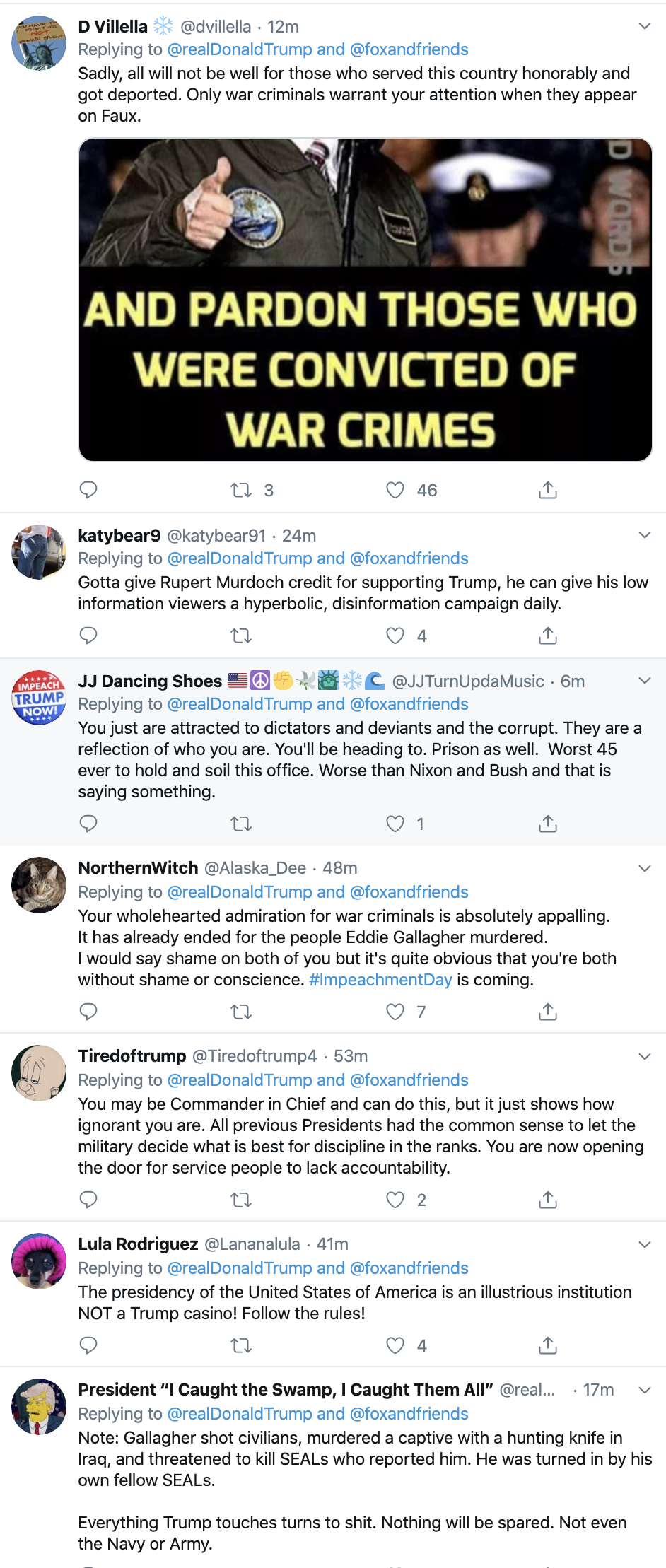 Screen-Shot-2019-11-24-at-7.13.28-AM Trump Erupts Into 4-Tweet Sunday Morning Impeachment Outburst Corruption Featured Impeachment Military Top Stories