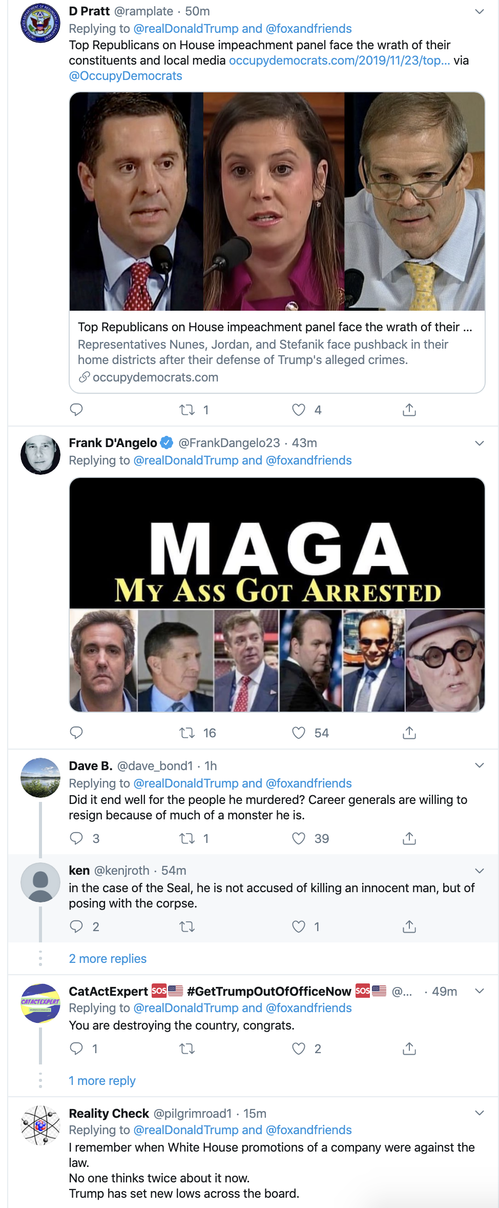 Screen-Shot-2019-11-24-at-7.14.44-AM Trump Erupts Into 4-Tweet Sunday Morning Impeachment Outburst Corruption Featured Impeachment Military Top Stories