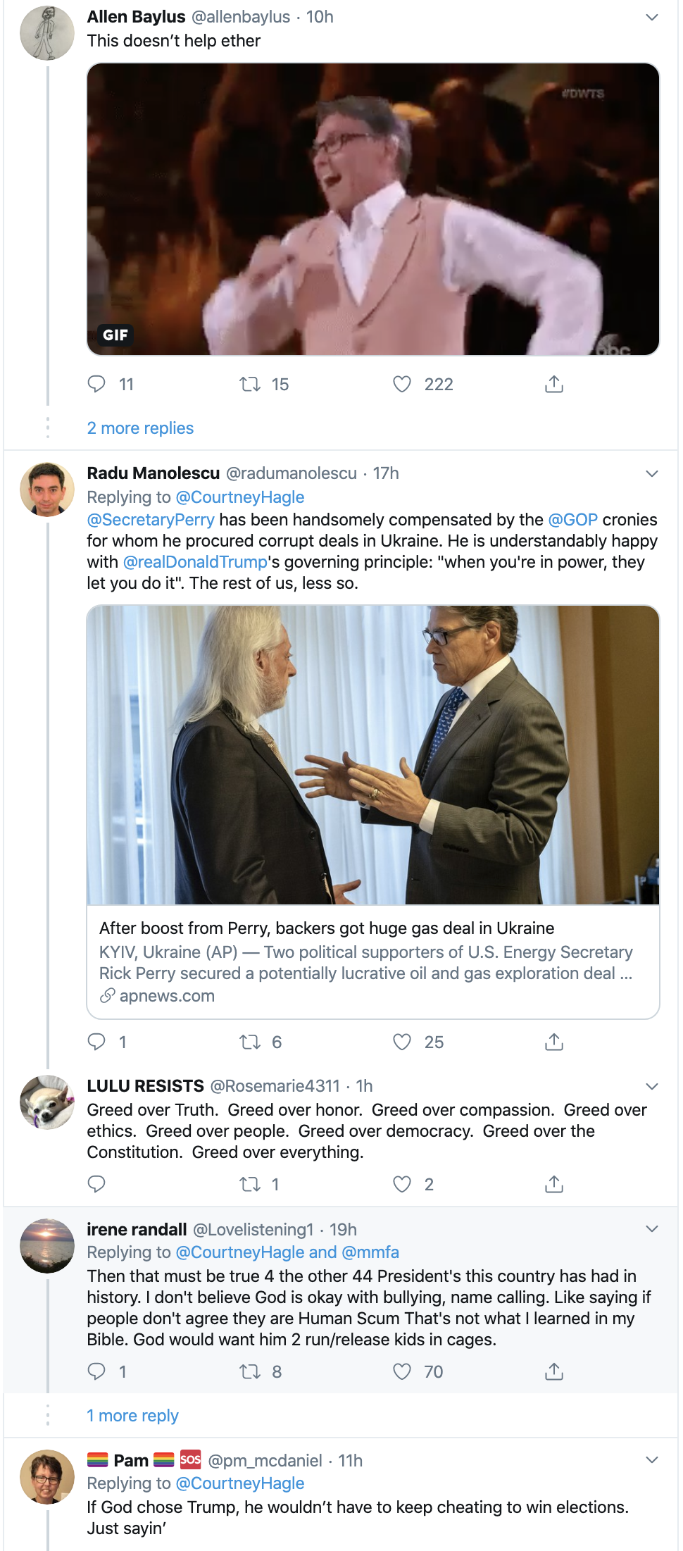 Screen-Shot-2019-11-25-at-8.19.01-AM Delusional Top Trump Official Calls Trump 'The Chosen One' Alt-Right Economy Environment Featured Religion Top Stories