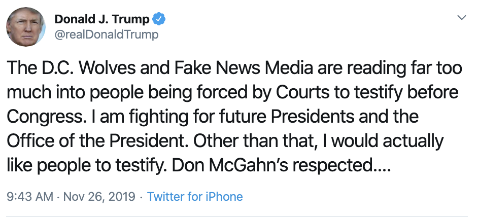 Screen-Shot-2019-11-26-at-10.41.31-AM Trump Takes To Twitter For Hilarious Mid-Morning Panic Featured Impeachment Investigation National Security Top Stories